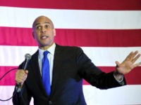 U.S. Sen. Cory Booker (D-NJ) speaks at his 'Conversation with Cory' campaign event at the Nevada Partners Event Center on February 24, 2019 in North Las Vegas, Nevada.