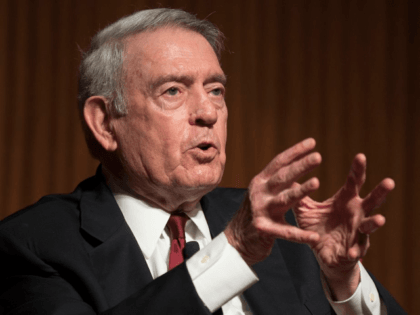 "Former CBS News anchor Dan Rather discusses the crucial role of the media in shaping perceptions of the Vietnam War at the LBJ Presidential Library on Wednesday, April 28, 2016. He was joined by Pulitzer Prize-winning journalist Peter Arnett for the ""War and the Fourth Estate"" panel discussion that was …"