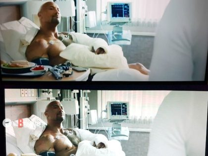 Dwayne 'The Rock' Johnson's 'Un-Islamic' Nipple Censored on Iran State Television