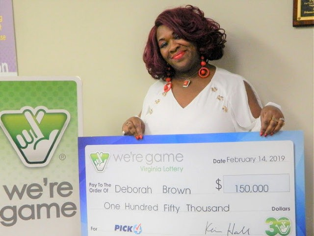 Woman picks matching numbers 30 times to win lottery game