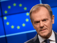 BRUSSELS, BELGIUM - MARCH 20: Donald Tusk, President of the European Council, speaks to the media one day prior to a summit of European Union leaders on March 20, 2019 in Brussels, Belgium. EU leaders will come together for a two-day summit that is taking place only a little over …