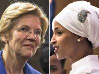 Elizabeth Warren, Ilhan Omar