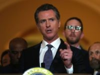 Gavin Newsom moratorium execution (Justin Sullivan / Getty)