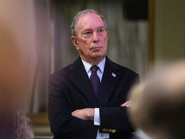 WASHINGTON, DC - JANUARY 21: Former New York City Mayor Michael Bloomberg listens during the National Action Network Breakfast on January 21, 2019 in Washington, DC. Martin Luther King III was among the attendees. (Photo by Al Drago/Getty Images)
