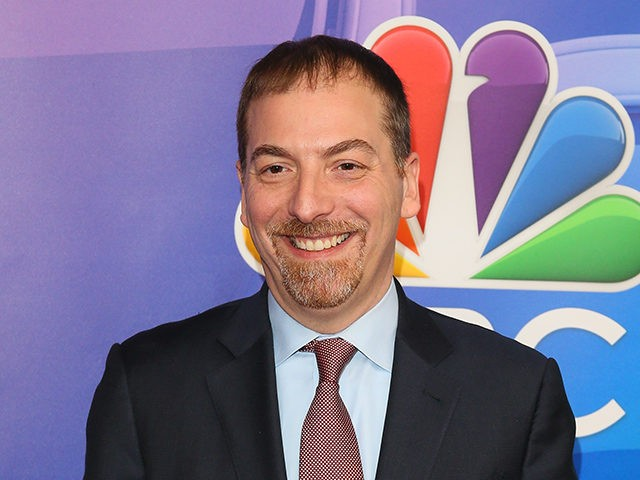 Breitbart: Nolte: Watch Chuck Todd Spread 4 Pieces