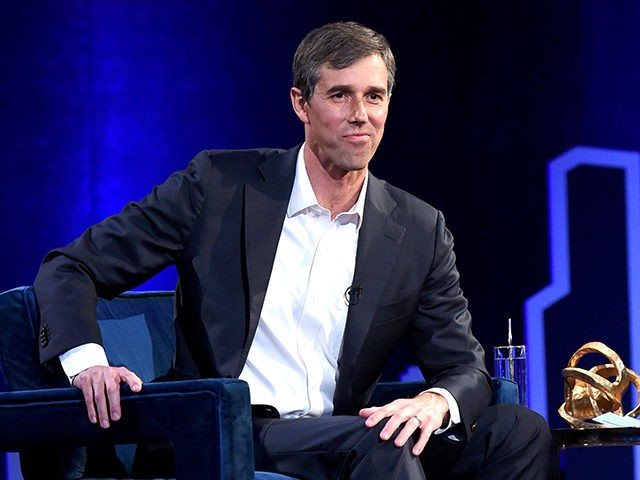 NEW YORK, NEW YORK - FEBRUARY 05: Beto O'Rourke speaks onstage at Oprah's SuperSoul Conversations at PlayStation Theater on February 05, 2019 in New York City. (Photo by Jamie McCarthy/Getty Images)