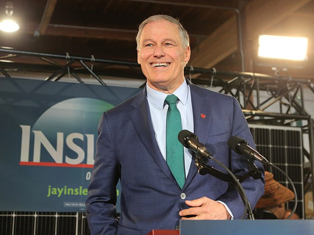 SEATTLE, WA - MARCH 01: Washington Gov. Jay Inslee announces his run for the 2020 Presidency at A