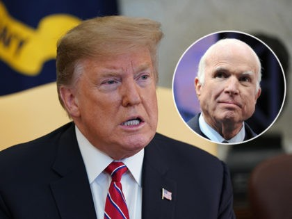 Donald Trump: 'I Was Never a Fan of John McCain and I Never Will Be'