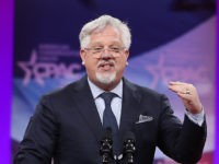 NATIONAL HARBOR, MARYLAND - MARCH 01: Glenn Beck speaks during CPAC 2019 on March 1, 2019 in National Harbor, Maryland. The American Conservative Union hosts the annual Conservative Political Action Conference to discuss conservative agenda. (Photo by Mark Wilson/Getty Images)