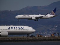BURLINGAME, CALIFORNIA - MARCH 13: A United Airlines Boeing 737 Max 9 aircraft lands at San Francisco International Airport on March 13, 2019 in Burlingame, California. The United States has followed countries around the world and has grounded all Boeing 737 Max aircraft following a crash of an Ethiopia Airlines …
