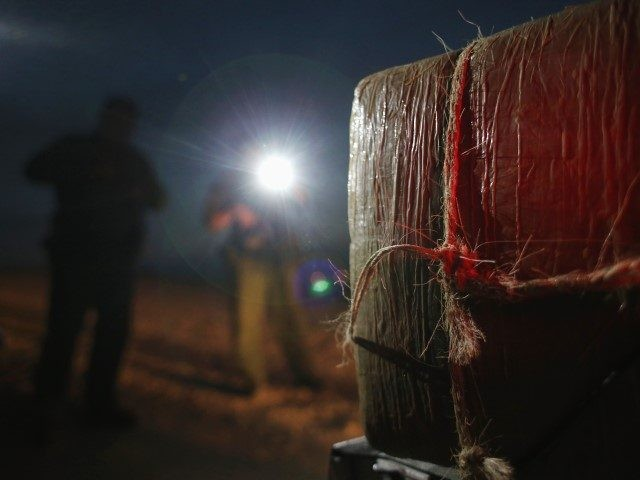 Border Patrol agents in the Rio Grande Valley Sector seize bundles of marijuana. (File Photo: John Moore/Getty Images)