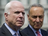 Schumer Resumes Effort to Rename Senate Office Building after McCain