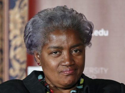 CHICAGO, IL - NOVEMBER 13: Former DNC Chair Donna Brazile speaks at The University of Chicago on November 13, 2017 in Chicago, Illinois. Brazile recently released her book 'Hacks: The Inside Story,' an account of her time as the interim chairperson of the Democratic National Committee during the 2016 presidential …