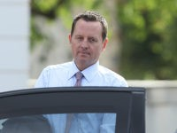 GRANSEE, GERMANY - JULY 06: U.S. Ambassador Richard Grenell departs after attending a reception for the internaitonal diplomatic corps hosted by German Chancellor Angela Merkel at Schloss Meseberg palace on July 6, 2018 near Gransee, Germany. Grenell, who was appointed ambassador by U.S. President Donald Trump, recently met with German …