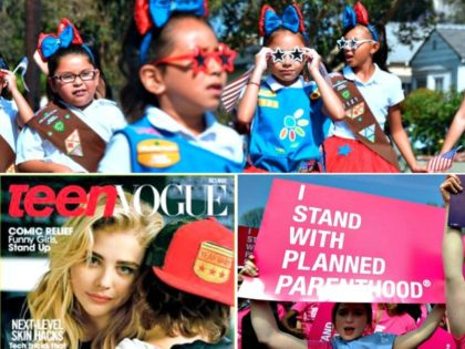 Girl Scouts, Planned Parenthoo, Teen Vogue