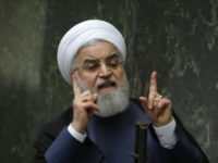 Rouhani Tells Iranians: 'Put All Your Curses' on U.S. and Israel