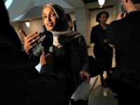 WASHINGTON, DC - JANUARY 24: U.S. Rep. Ilhan Omar (D-MN) (L) and Rep. Ayanna Pressley (D-MA) (R) speak to members of the media after a news conference January 24, 2019 on Capitol Hill in Washington, DC. The Democratic Congresswomen held a news conference on legislation providing childcare for workers affected …