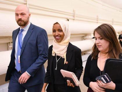 Ilhan Omar victory (Mandel Ngan / AFP / Getty)
