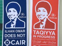 PHOTOS: Street Artist Sabo Attacks Ilhan Omar over Anti-Semitism