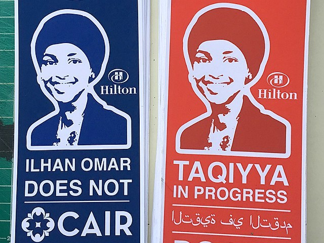 PHOTOS: Street Artist Sabo Calls Out Ilhan Omar over Her Anti-Semitic Remarks