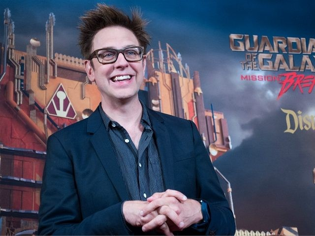 ANAHEIM, CA - MAY 25, 2017: In this handout photo provided by Disney Resorts, director James Gunn attends the grand opening of Guardians of The Galaxy - Mission: BREAKOUT! attraction on May 25, 2017 at Disneys California Adventure in Disneyland in Anaheim, California. (Photo by Richard Harbaugh/Disneyland Resort via Getty …