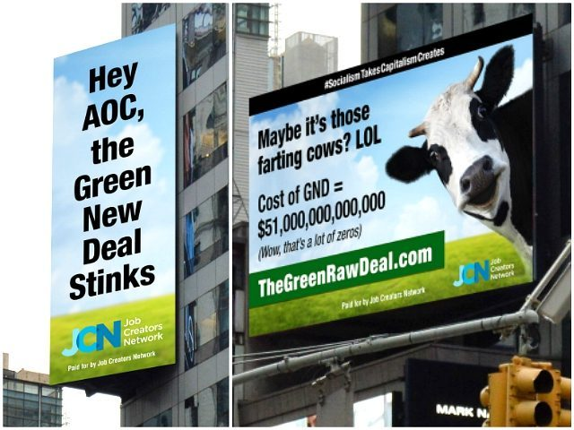 Job Creators Network Billboard, AOC