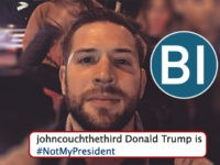 '#NotMyPresident': Business Insider Reporter John Haltiwanger's History of Intense Trump Hatred