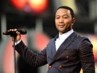 LONDON, ENGLAND - JUNE 01: Singer John Legend performs on stage at the 'Chime For Change: The Sound Of Change Live' Concert at Twickenham Stadium on June 1, 2013 in London, England. Chime For Change is a global campaign for girls' and women's empowerment founded by Gucci with a founding …