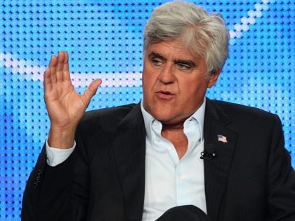 PASADENA, CA - AUGUST 5: Television personality/comedian Jay Leno attends the NBC Network portion of the 2009 Summer Television Critics Association Press Tour at The Langham Huntington Hotel & Spa on August 5, 2009 in Pasadena, California. (Photo by Frederick M. Brown/Getty Images)