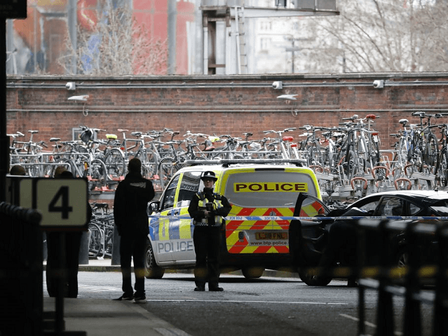 Counter terrorism investigation in London, UK, after explosives found