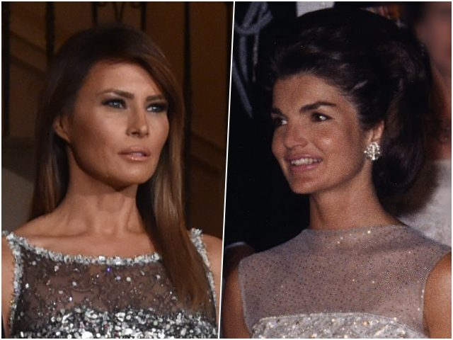Melania Trump and Jackie O