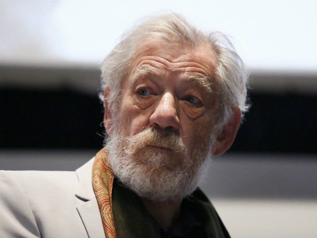 ROME, ITALY - NOVEMBER 01: Ian McKellen meets the audience during the 12th Rome Film Fest at Auditorium Parco Della Musica on November 1, 2017 in Rome, Italy. (Photo by Ernesto S. Ruscio/Getty Images)