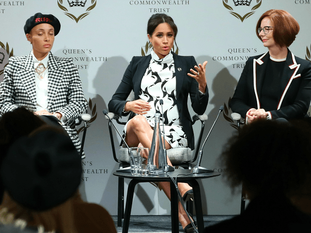 Meghan Markle Shows Off Style on International Women's Day