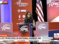 Michelle Malkin speaks at CPAC 2019.