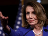 Speaker of the House Nancy Pelosi (D-CA) answers questions during her weekly news conference at the U.S. Capitol March 28, 2019 in Washington, DC. Pelosi answered a range of questions centered primarily around the investigative report by Special Counsel Robert Mueller that was handed into the Department of Justice last …