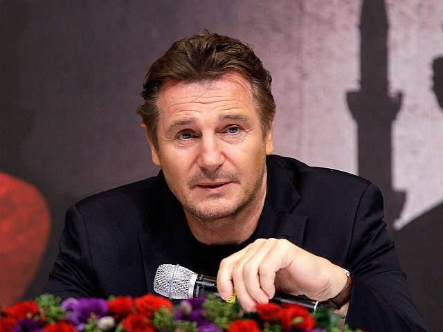 SEOUL, SOUTH KOREA - SEPTEMBER 17: Actor Liam Neeson attends the 'Taken 2' press conference at the Hyatt Hotel on September 17, 2012 in Seoul, South Korea. The film will open on September 27 in Korea. (Photo by Chung Sung-Jun/Getty Images)