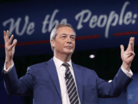 NATIONAL HARBOR, MD - FEBRUARY 24: British politician Nigel Farage speaks during the Conservative Political Action Conference at the Gaylord National Resort and Convention Center February 24, 2017 in National Harbor, Maryland. Hosted by the American Conservative Union, CPAC is an annual gathering of right wing politicians, commentators and their …