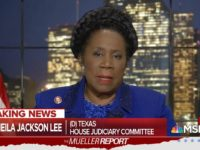 Jackson Lee Declines to Accept Mueller Report Finding on No Collusion