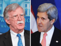 John Bolton vs. John Kerry (Mandel Ngan / AFP / Getty)