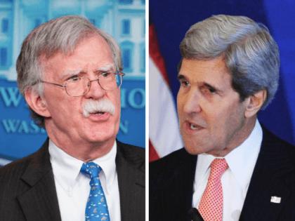 John Bolton vs. John Kerry (Mandel Ngan / AFP / Getty)