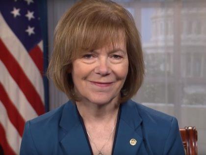 Tina Smith during 3/29/19 Democratic Weekly Address