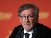US director Steven Spielberg attends on May 14, 2016 a press conference for the film 'The BFG' at the 69th Cannes Film Festival in Cannes, southern France. / AFP / Laurent EMMANUEL (Photo credit should read LAURENT EMMANUEL/AFP/Getty Images)