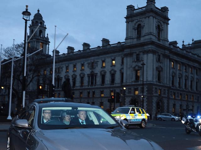 Theresa May Driving