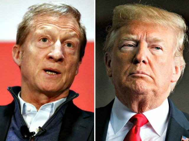 Tom Steyer, Donald Trump