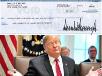 Donald Trump Donates First Quarter 2019 Salary to Homeland Security