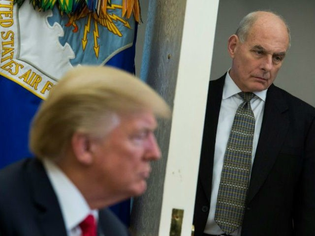 White House chief of staff John Kelly Discipline and controversy