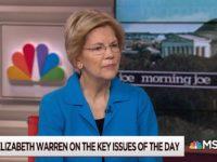 Elizabeth Warren on 'Morning Joe,' 3/13/2019