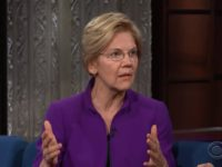 Elizabeth Warren to CBS's Stephen Colbert: 'Zero' Democratic Voters Care About the Mueller Report