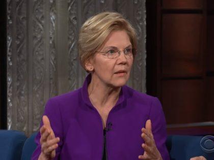 Elizabeth Warren on 'The Late Show,' 3/25/2019