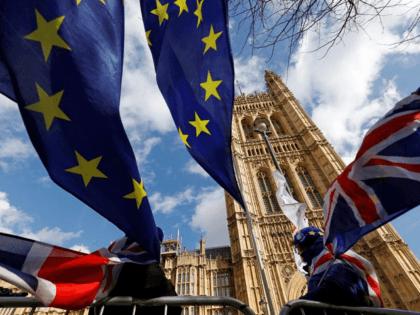Westminster EU Flags